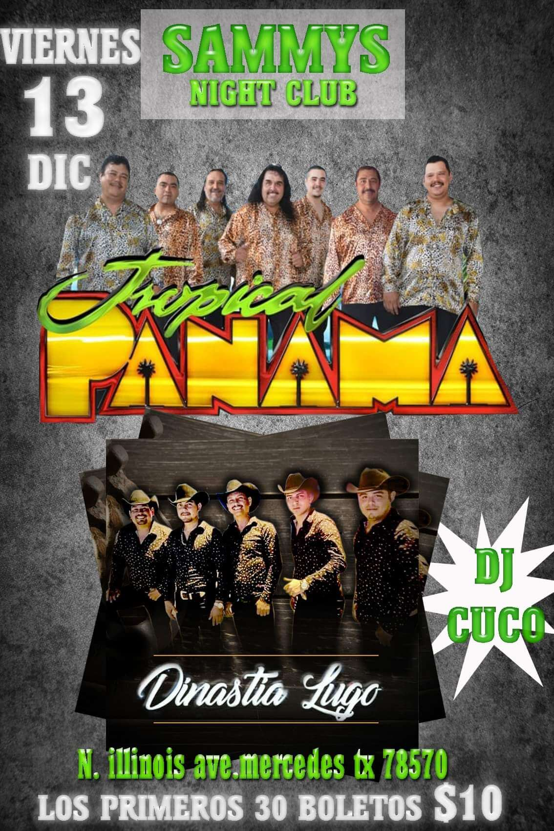 Tropical Panama event